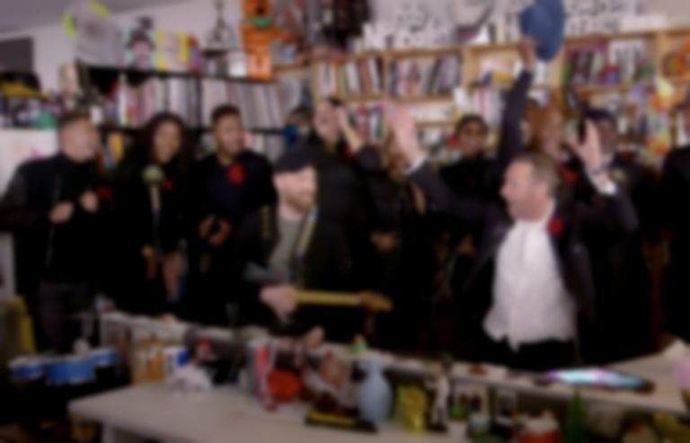 "Coldplay cover Prince's ""1999"" with choir on NPR Tiny Desk Concert"