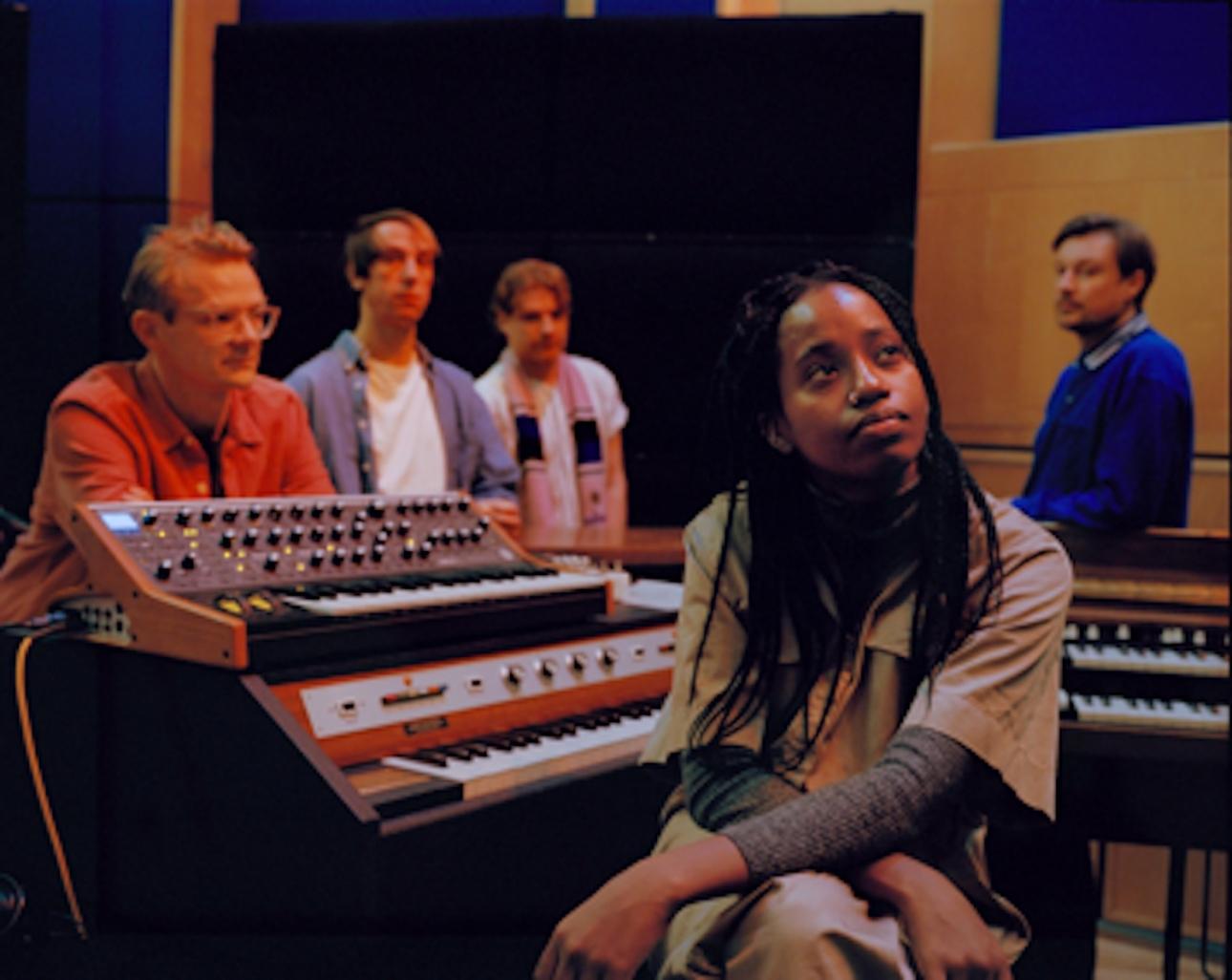 """Django Django and Denai Moore release Abbey Road Studios Lock-In series  track """"Say Something"""""""