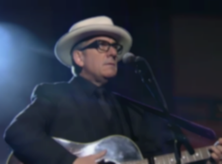 Watch Elvis Costello perform on Letterman for the 27th and (most likely) final time