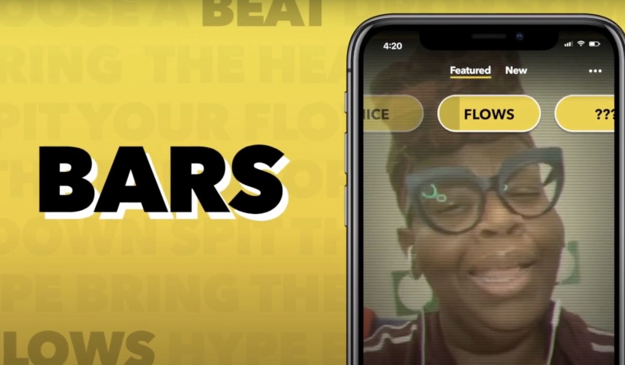 Facebook запускает новое музыкальное приложение BARS, которое позволяет пользователям создавать 60-секундные рэпы