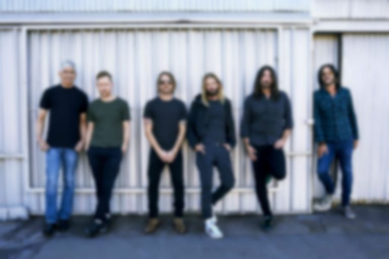 "Foo Fighters celebrate Dave Grohl's birthday with new single ""Waiting On A War"""