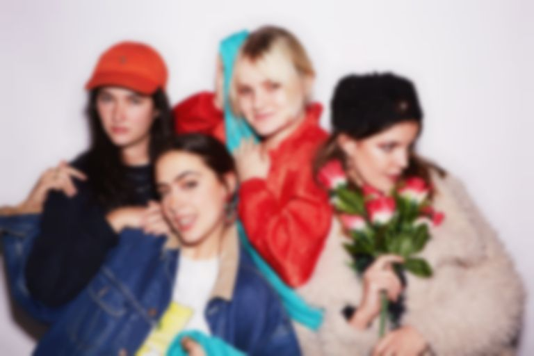 "Hinds return with ""New For You"", the first song from second record I Don't Run"