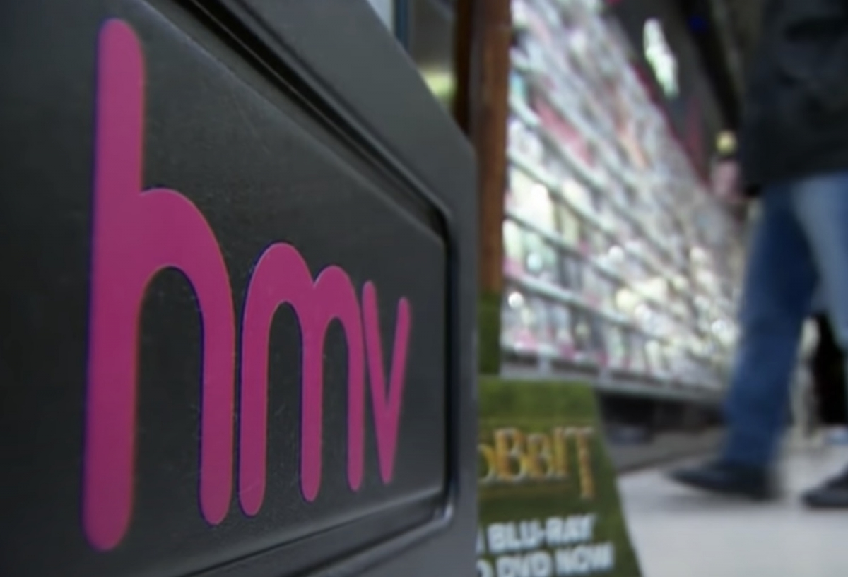 HMV plans to open 10 new stores this year