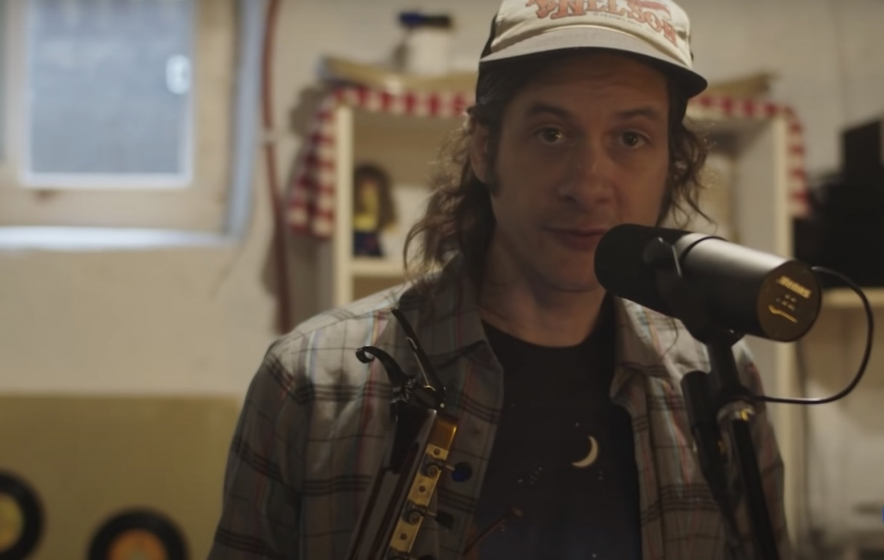 Kurt Vile and his daughters perform covers of Neil Young and Gillian Welch for Joe Biden