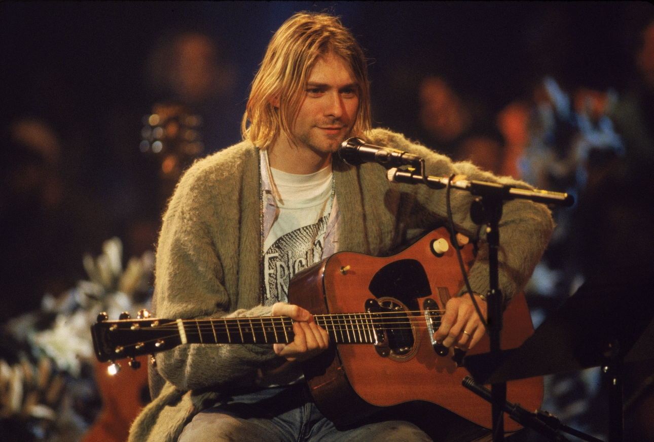Kurt Cobain's iconic green cardigan to go up for auction later this month