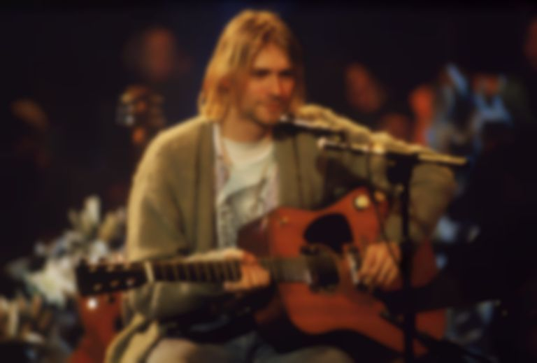 Someone paid $75,000 for a cardigan worn by Kurt Cobain