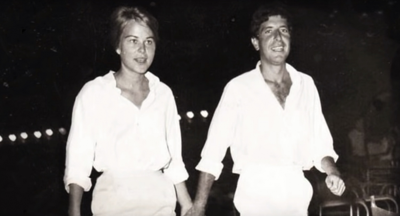 There's a trailer for the new Leonard Cohen documentary about his relationship with Marianne Ihlen