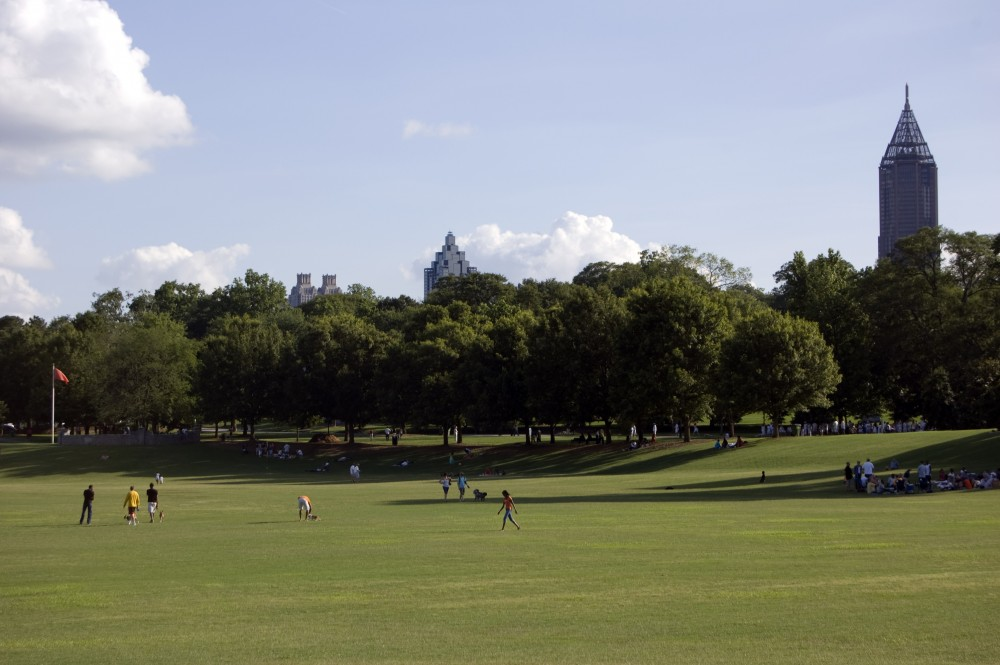 Piedmont Park in Atlanta