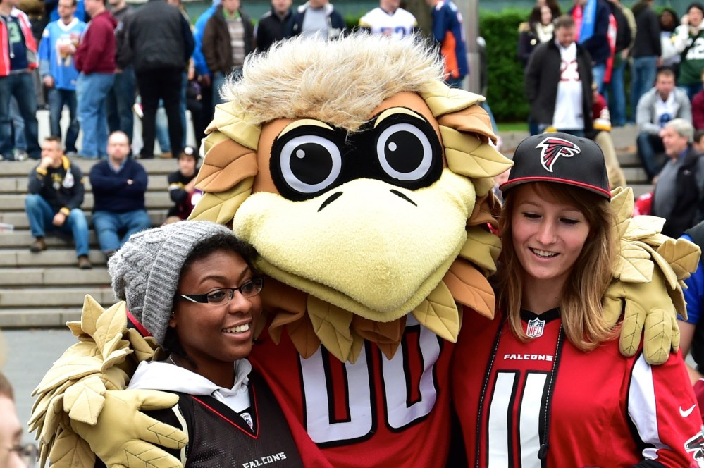 Atlanta Falcons mascot
