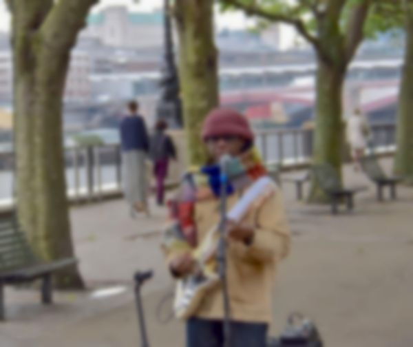Nile Rodgers went busking in London over the weekend and no one noticed