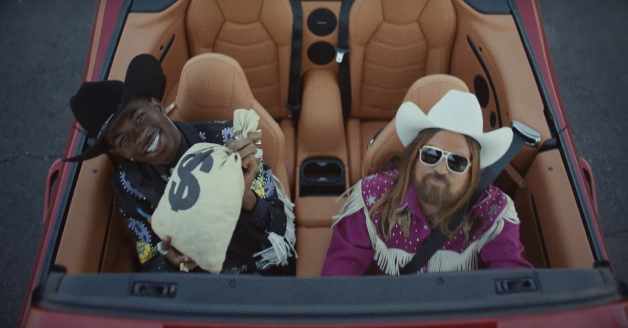 Lil Nas X actually bought Billy Ray Cyrus a Maserati