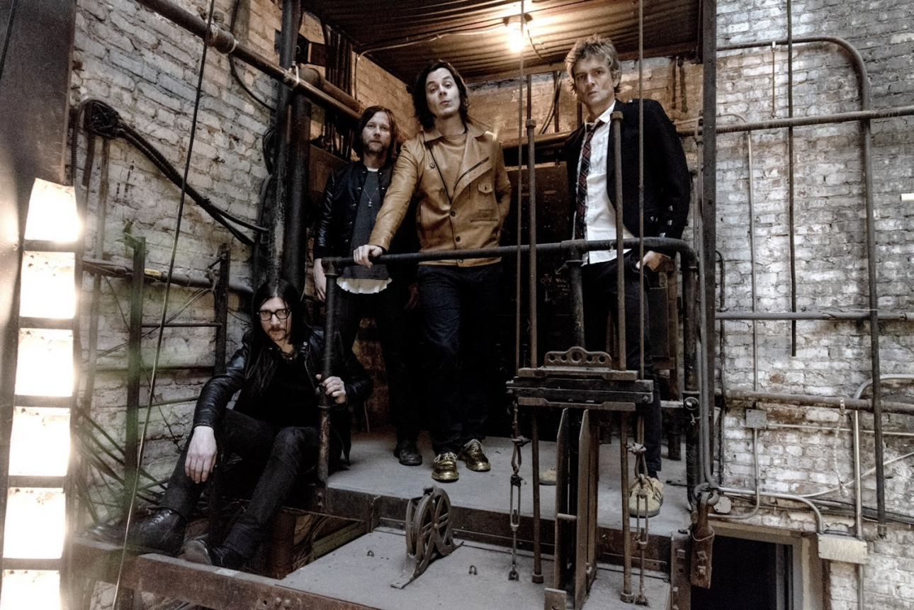 The Raconteurs have finished their new album