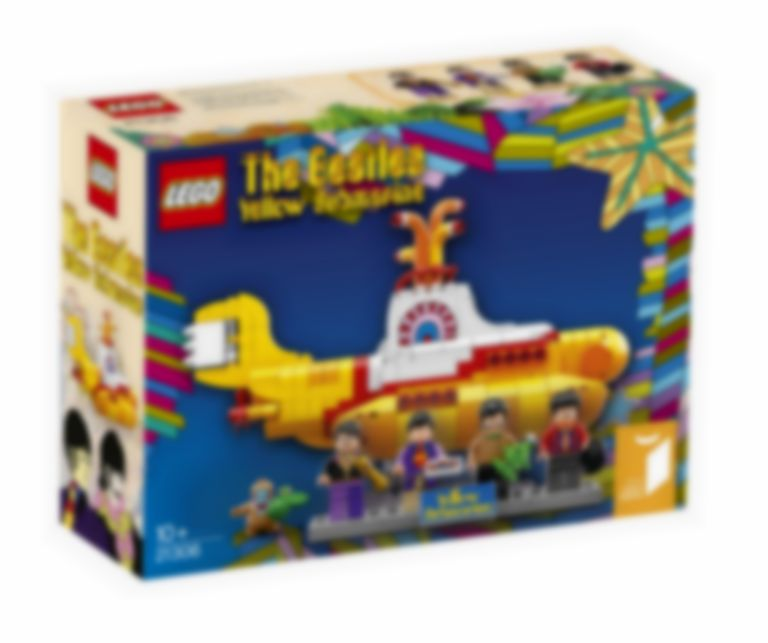 There's gonna be a Beatles Lego set featuring the Yellow Submarine