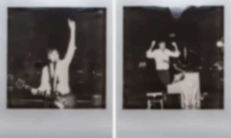 Polaroids with Paul McCartney