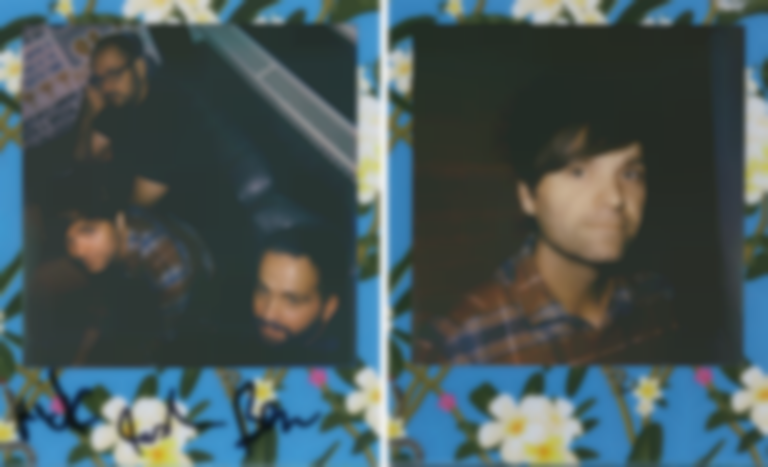 Polaroids with Death Cab for Cutie