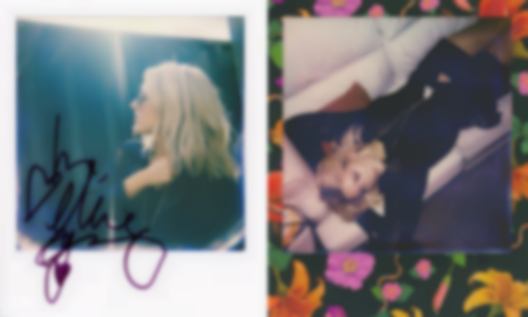 Polaroids with Ellie Goulding