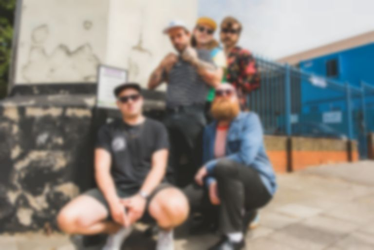 "IDLES call BRITs nomination ""a positive and beautiful thing"""