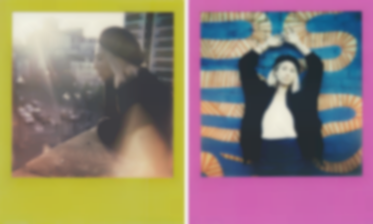 Polaroids with Tei Shi