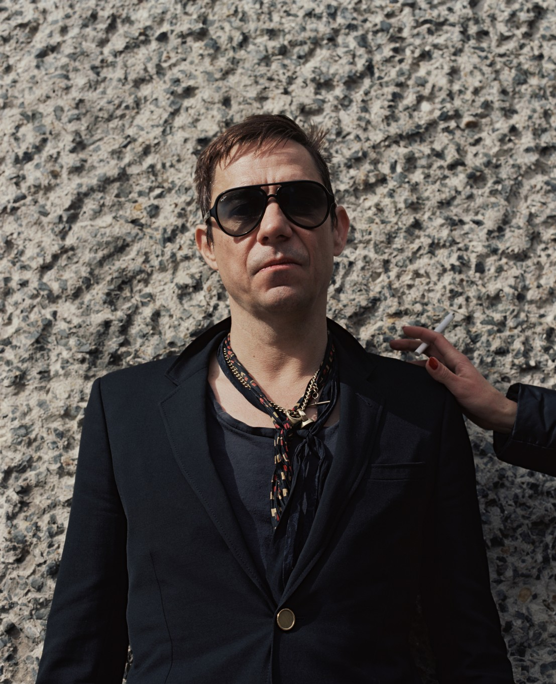Jamie Hince from The Kills by Hollie Fernando