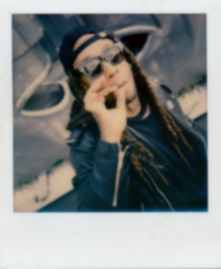 Polaroids with Ty Dolla $ign