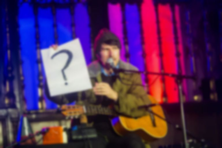 Listen to Gruff Rhys' beautiful secret show in a church at last year's Le Guess Who? festival