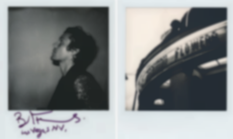 Polaroids with Brandon Flowers