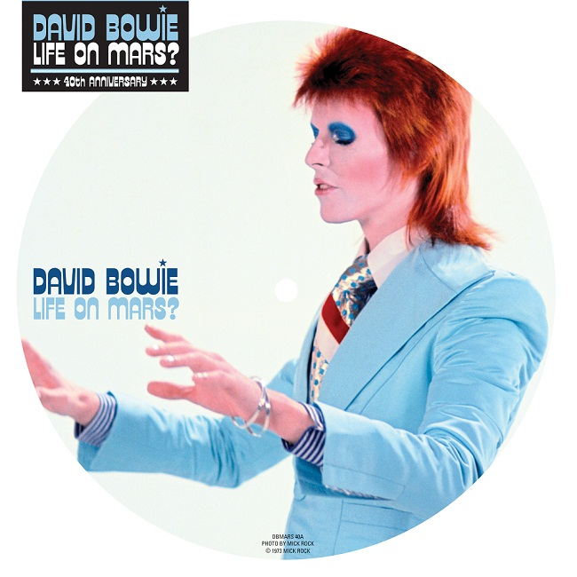 David Bowie To Reissue Life On Mars 40th Anniversary