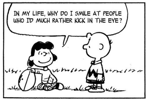 Charlie Brown Comics Remade With The Smiths Lyrics