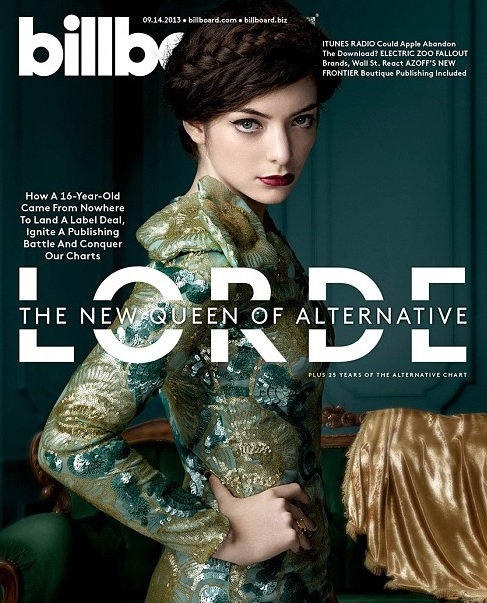 Lorde appears on cover of Billboard magazine