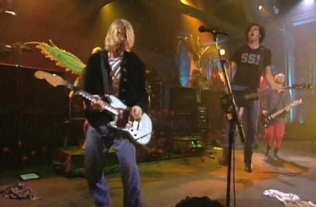 Watch Nirvana Perform Scentless Apprentice Live From In