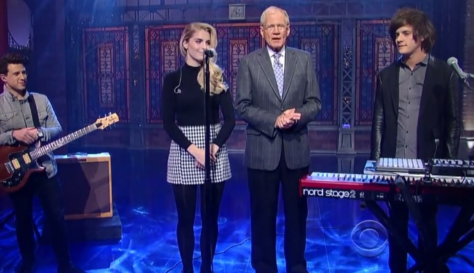 Watch London Grammar Performing Quot Strong Quot Live On Letterman