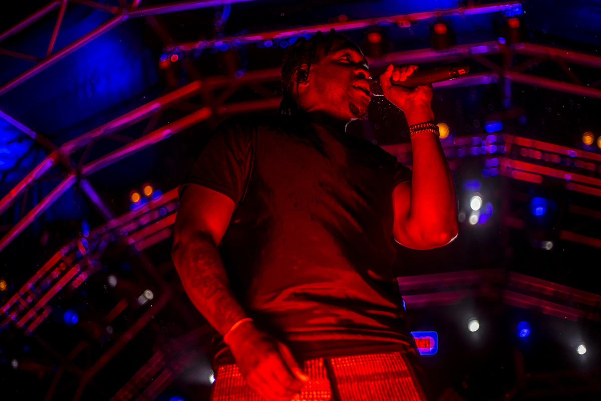 """Pusha T says he will make """"a decent example"""" out of whoever is leaking his music"""