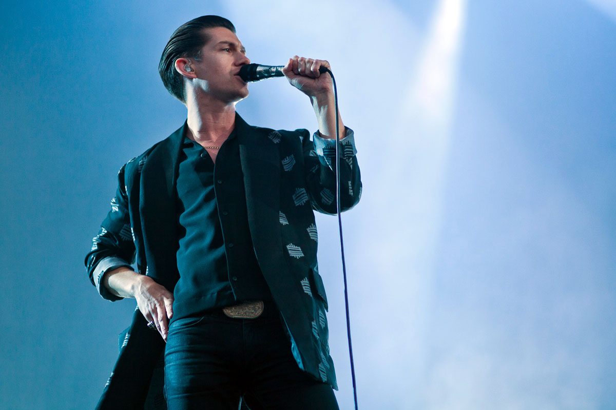 Photos of Arctic Monkeys at Finsbury Park in London