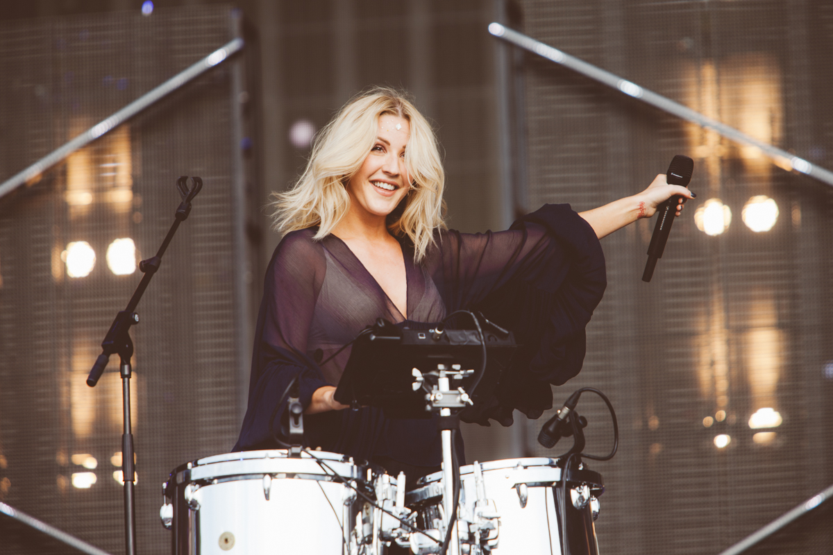 Ellie Goulding says her new album isn't inspired by marriage