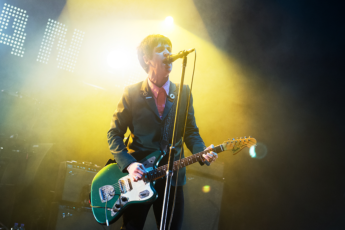 Johnny Marr is working on the new James Bond film score with Hans Zimmer