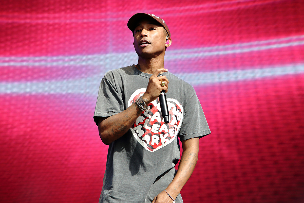 """Pharrell discusses """"Blurred Lines"""" controversy in new interview"""