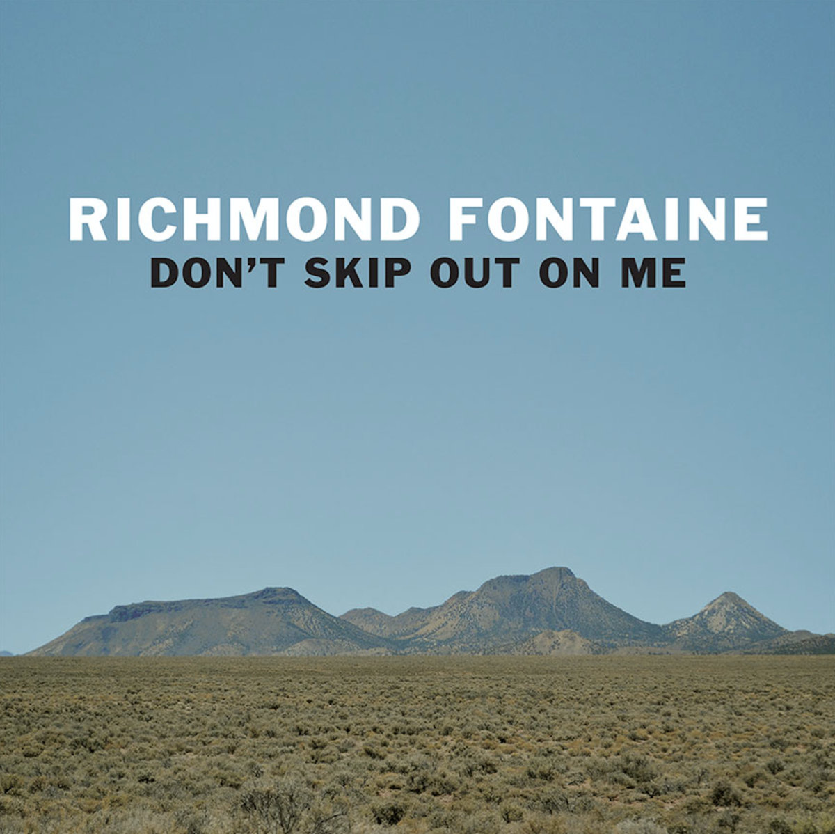 Don't Skip Out On Me by Richmond Fontaine | Album Review