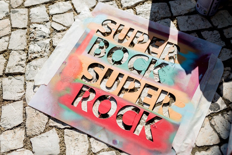The Underdogs of urban art come to life in Lisbon at Super Bock Super Rock