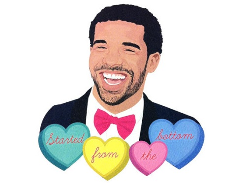 Send your loved one a Drakethemed Valentines Day card – Drake Birthday Card