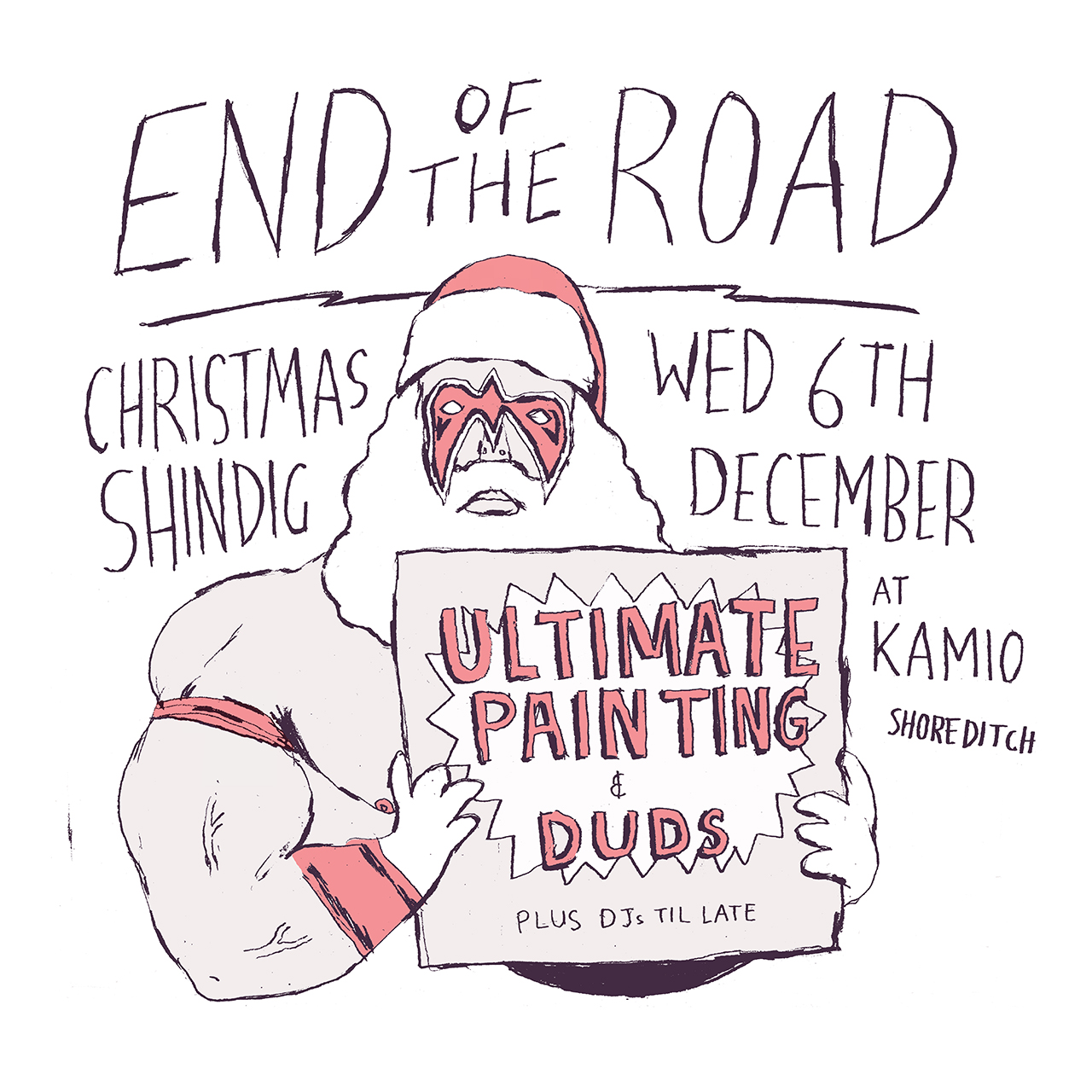 EOTR Festival Christmas Party Poster 2017