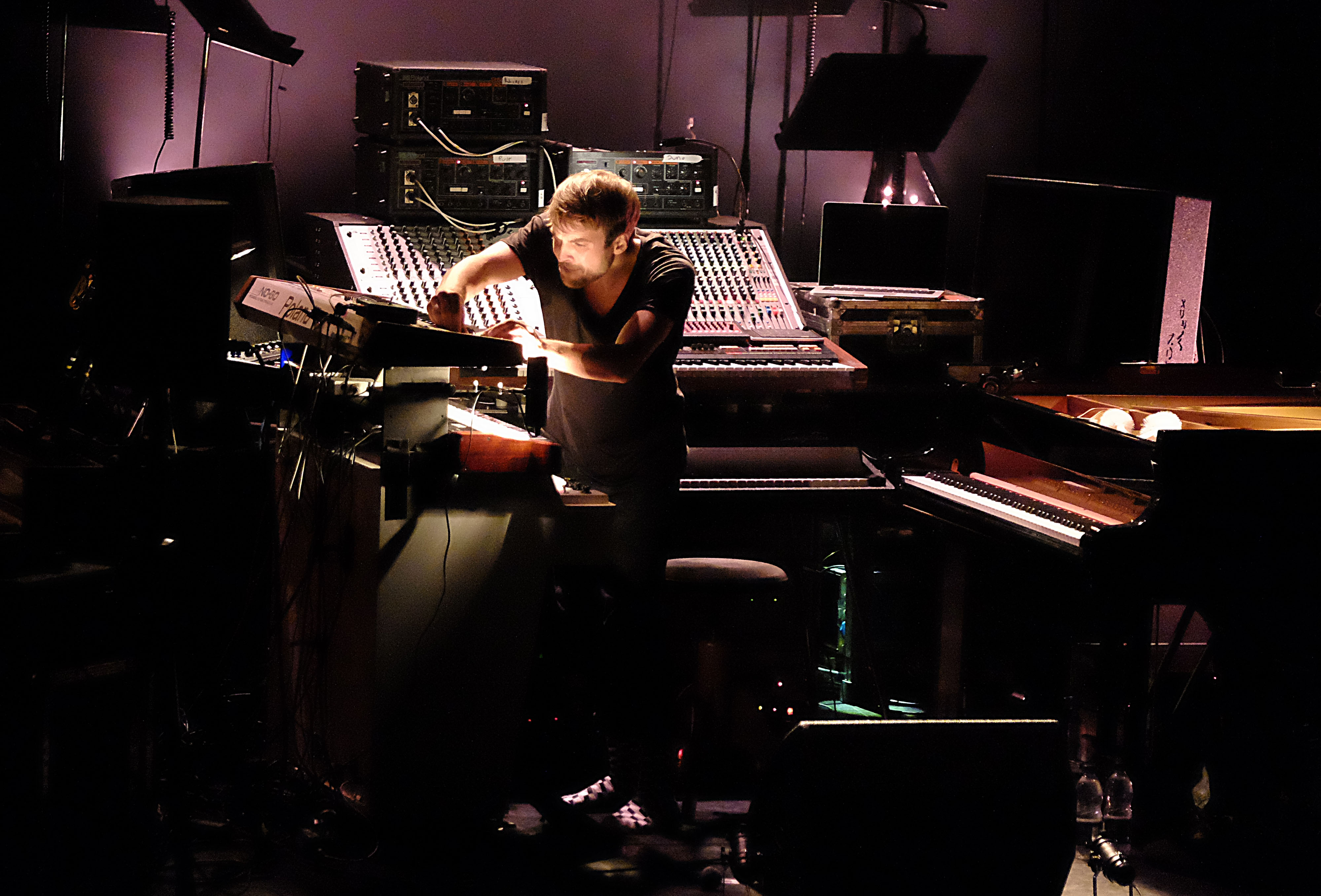 Nils Frahm at the Barbican