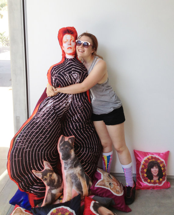 This David Bowie Body Pillow Could Be Yours For Just Over 163 250