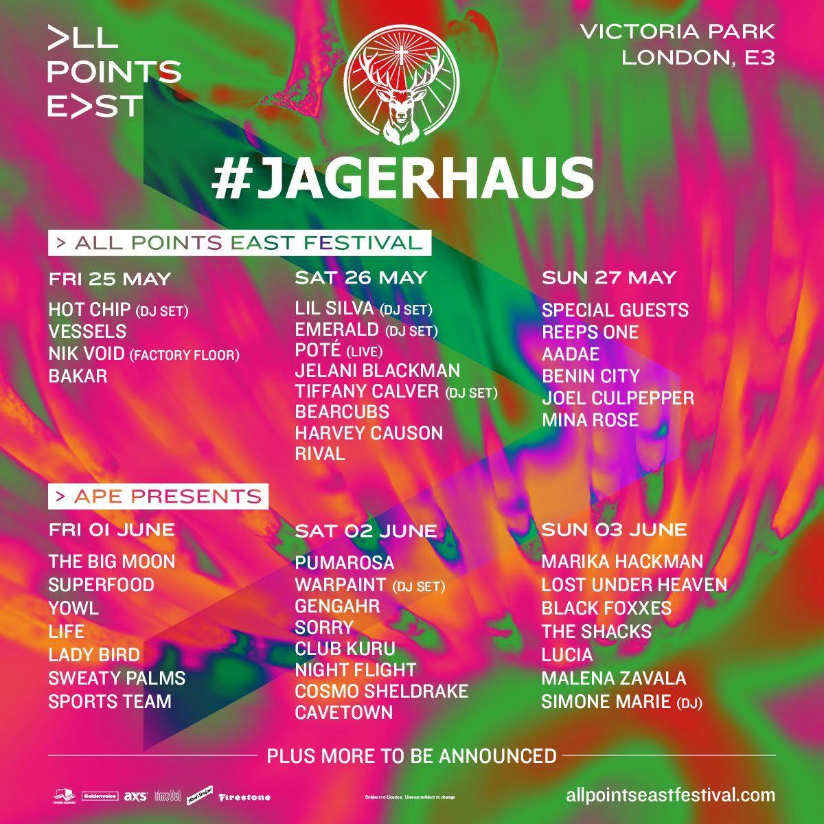 Jagerhaus full lineup